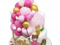 Birthday Cake Fondant Ballon