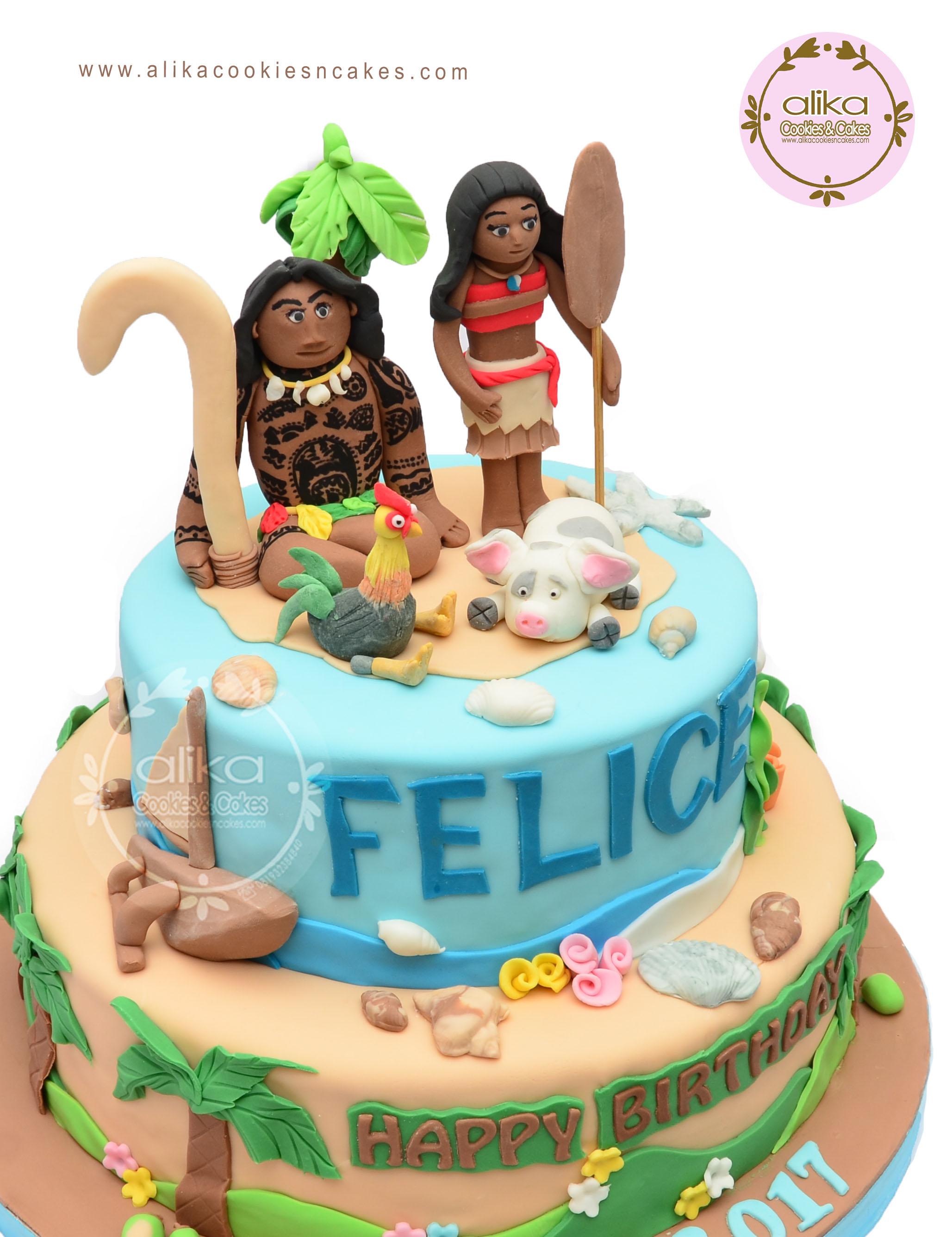Cake Fondant Alikacookiesncakes