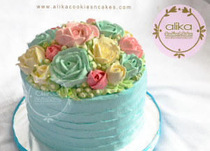 Flower Cake Dome_1