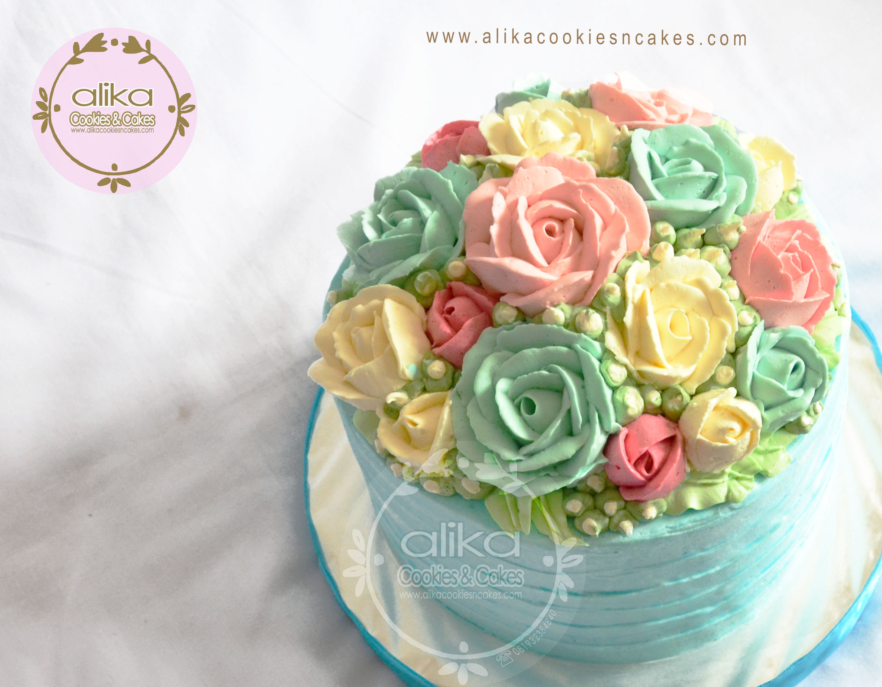 Flower Cake Dome_2
