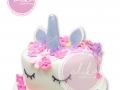 UNicorn Cake FOndant Birthday