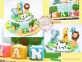 birthday-cake-_Animals_theme
