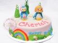 birthday-cake-_Pororo_fondant-decorate