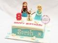 birthday-cake-_-Frozen-Fondant