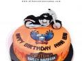BirthdayCake_fondant_Harley-Davidson