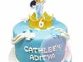 Jasmine Birthday Cake Fondant